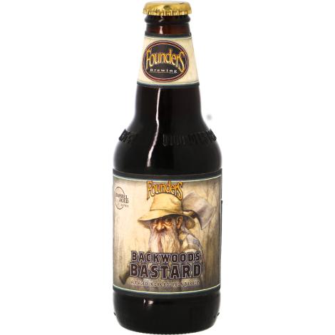 Founders Brewing Company Founders Backwoods Bastard 2021 - Bourbon Ba - Bouteilles De Bière 35,5 Cl - Founders Brewing Company - Saveur Bière