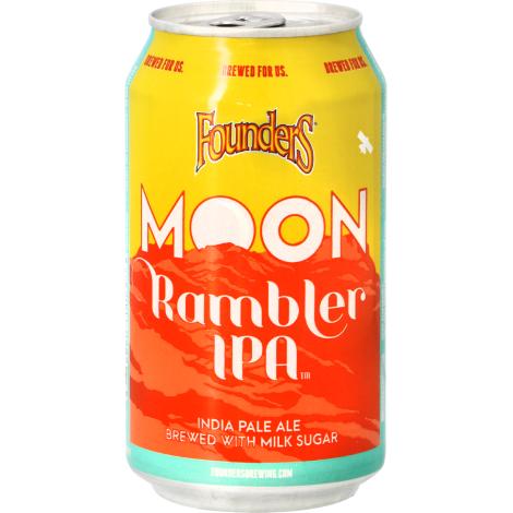 Founders Brewing Company Founders Moon Rambler Ipa - Bouteilles De Bière 35,5 Cl - Founders Brewing Company - Saveur Bière