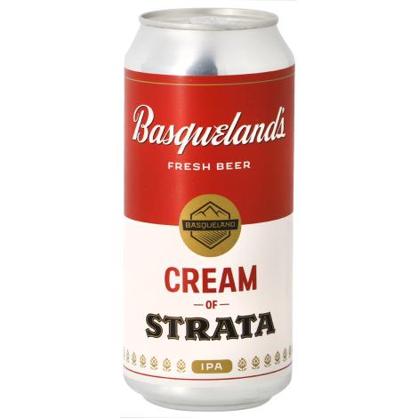 Basqueland Brewing Project Basqueland Cream Of Strata - Bouteilles De Bière 44 Cl - Basqueland Brewing Project - Saveur Bière