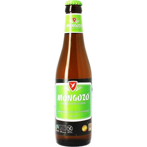 Brasserie Huyghe Mongozo Pils - Bouteilles De Bière 33 Cl - Brasserie Huyghe - Saveur Bière