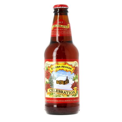 Sierra Nevada Brewing Company Sierra Nevada Celebration Fresh Hop Ipa - Bouteilles De Bière 35,5 Cl - Sierra Nevada Brewing Company - Saveur Bière