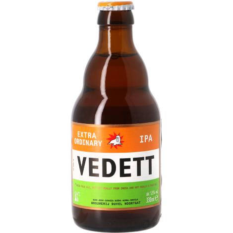 Duvel Moortgat Vedett Ipa - Bouteilles De Bière 33 Cl - Duvel Moortgat - Saveur Bière