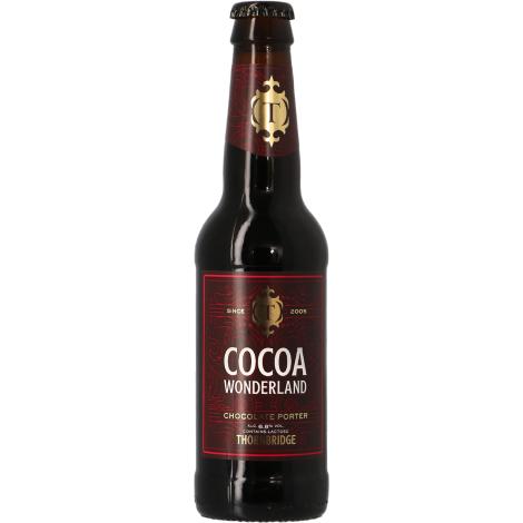 Thornbridge Brewery Thornbridge Cocoa Wonderland - Bouteilles De Bière 33 Cl - Thornbridge Brewery - Saveur Bière