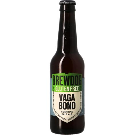 Brewdog Brewery Brewdog Vagabond Pale Ale - Bouteilles De Bière 33 Cl - Brewdog Brewery - Saveur Bière