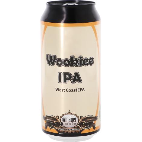 Amager Bryghus Amager / Port Brewing Wookiee Ipa - Bouteilles De Bière 44 Cl - Amager Bryghus - Saveur Bière