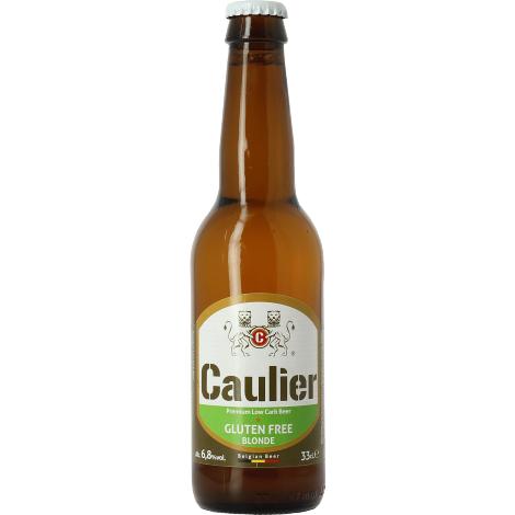 Brasserie 28 Caulier Gluten Free - Bouteilles De Bière 33 Cl - Brasserie 28 - Saveur Bière