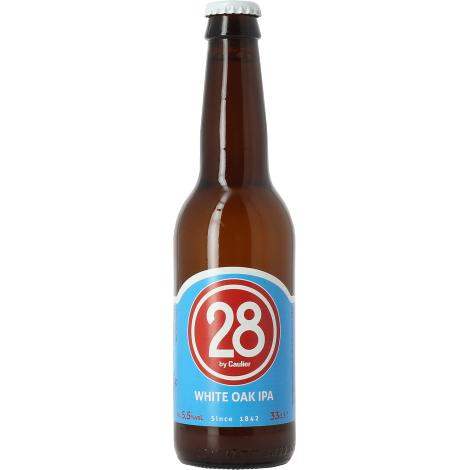 Brasserie 28 28 White Oak Ipa - Bouteilles De Bière 33 Cl - Brasserie 28 - Saveur Bière