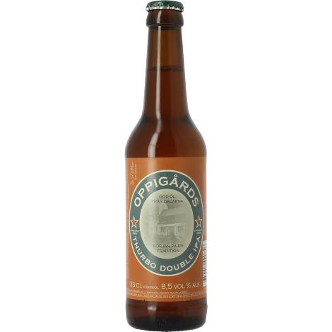 Oppigårds Bryggeri Oppigards Thurbo Double Ipa - Bouteilles De Bière 33 Cl - Oppigårds Bryggeri - Saveur Bière