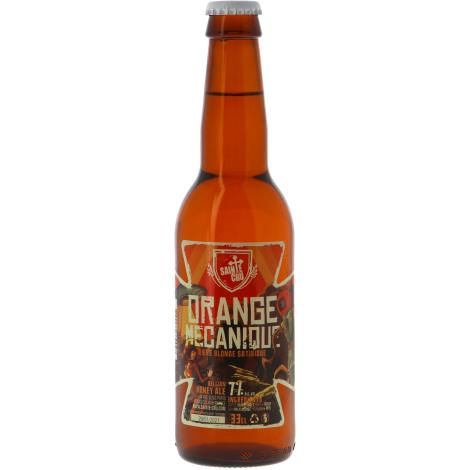 Brasserie Sainte Crucienne Sainte Cru Orange Mécanique - Bouteilles De Bière 33 Cl - Brasserie Sainte Crucienne - Saveur Bière