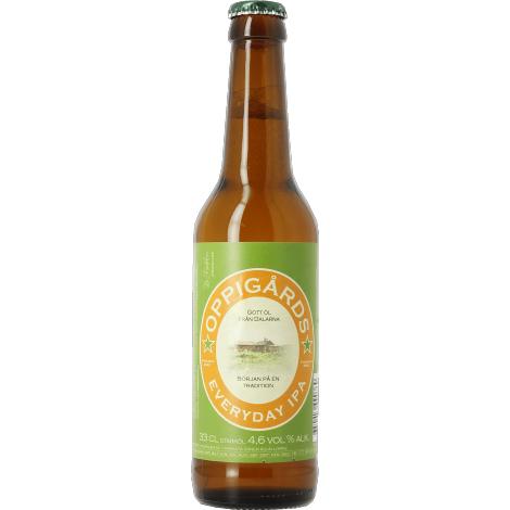 Oppigårds Bryggeri Oppigårds Everyday Ipa - Bouteilles De Bière 33 Cl - Oppigårds Bryggeri - Saveur Bière