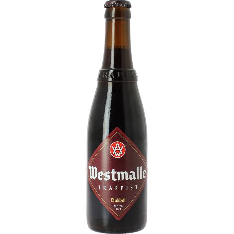 Abbaye de Westmalle Westmalle Dubbel Brune - Bouteilles De Bière 33 Cl - Abbaye De Westmalle - Saveur Bière