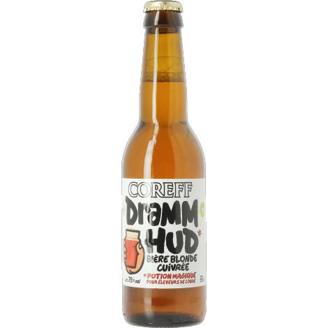 Brasserie Coreff Coreff Dramm Hud - Bouteilles De Bière 33 Cl - Brasserie Coreff - Saveur Bière