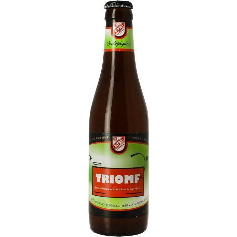 Brasserie Dupont Triomfbier Bio - Bouteilles De Bière 33 Cl - Brasserie Dupont - Saveur Bière