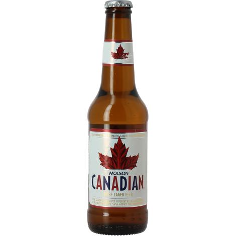 Molson Breweries Molson Canadian - Bouteilles De Bière 33 Cl - Molson Breweries - Saveur Bière
