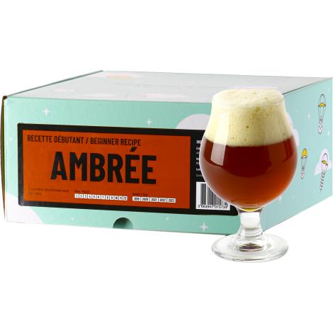 InterDrinks Recette Bière Ambrée - Recharge Pour Beer Kit Débutant   Interdrinks   Saveur Bière