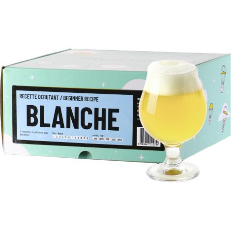 InterDrinks Recette Bière Blanche - Recharge Pour Beer Kit Débutant   Interdrinks   Saveur Bière