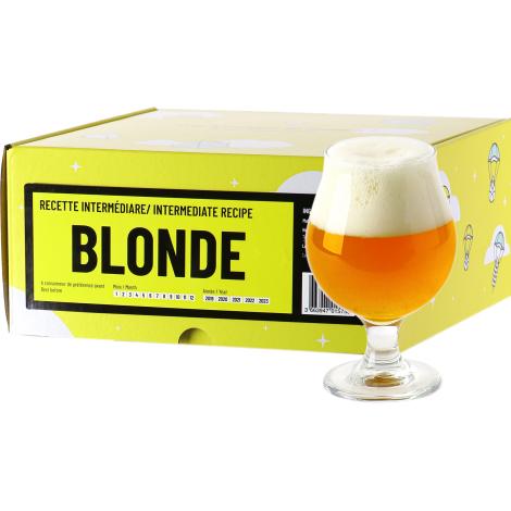 InterDrinks Recette Bière Blonde - Recharge Pour Beer Kit Intermédiaire   Interdrinks   Saveur Bière