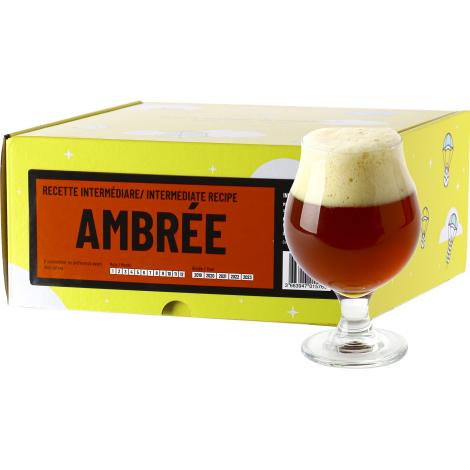 InterDrinks Recette Bière Ambrée - Recharge Pour Beer Kit Intermédiaire   Interdrinks   Saveur Bière