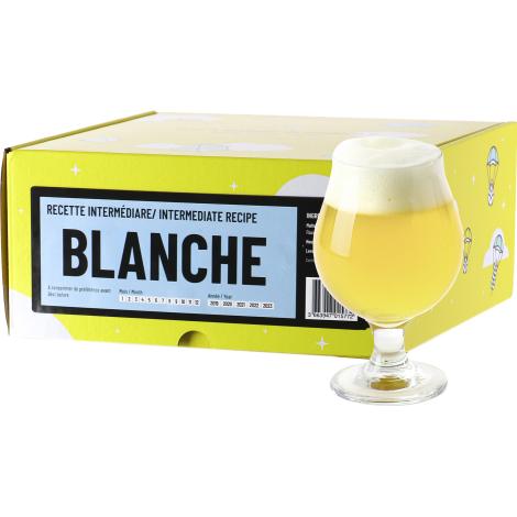 InterDrinks Recette Bière Blanche - Recharge Pour Beer Kit Intermédiaire   Interdrinks   Saveur Bière