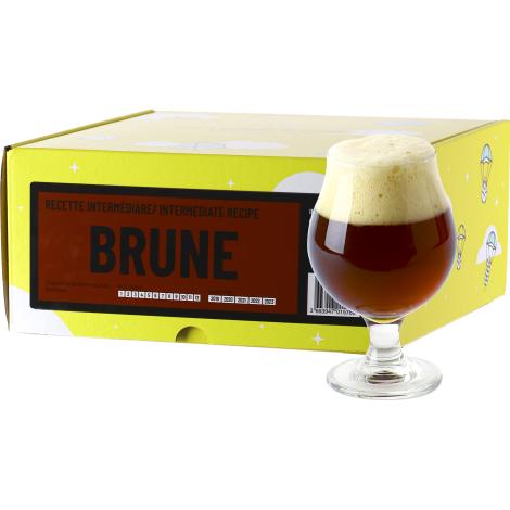 InterDrinks Recette Bière Brune - Recharge Pour Beer Kit Intermédiaire   Interdrinks   Saveur Bière