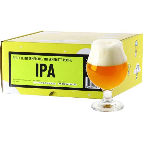 InterDrinks Recette Bière Ipa - Recharge Pour Beer Kit Intermédiaire   Interdrinks   Saveur Bière