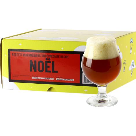 InterDrinks Recette Bière De Noël - Recharge Pour Beer Kit Intermédiaire   Interdrinks   Saveur Bière