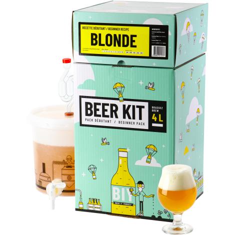 Saveur Bière Beer Kit Débutant Bière Blonde   Saveur Bière