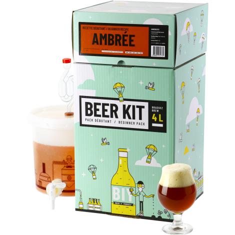 Saveur Bière Beer Kit Débutant Bière Ambrée   Saveur Bière