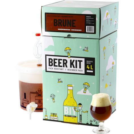 Saveur Bière Beer Kit Débutant Bière Brune   Saveur Bière