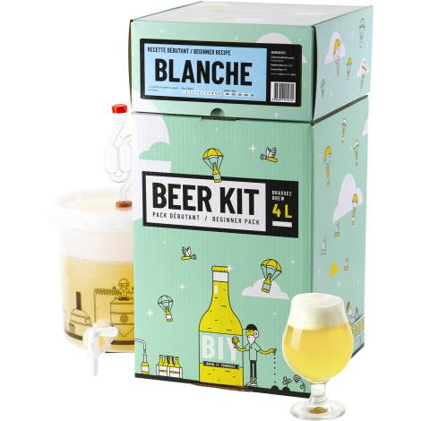 Saveur Bière Beer Kit Débutant Bière Blanche   Saveur Bière