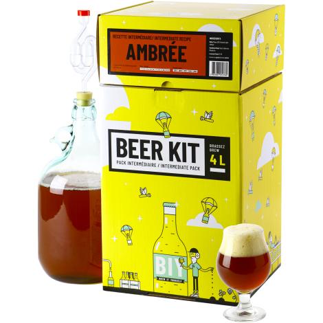 Saveur Bière Beer Kit Intermédiaire Bière Ambrée   Saveur Bière