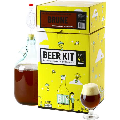 Saveur Bière Beer Kit Intermédiaire Bière Brune   Saveur Bière