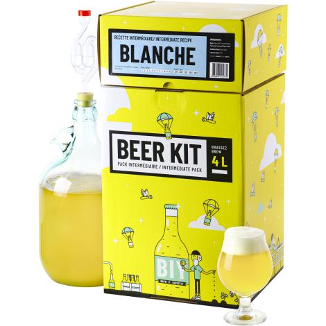 Saveur Bière Beer Kit Intermédiaire Bière Blanche   Saveur Bière