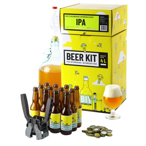 Saveur Bière Beer Kit Intermédiaire Complet Bière Ipa   Saveur Bière