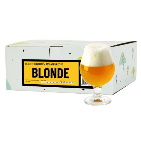 InterDrinks Recette Bière Blonde - Recharge Pour Beer Kit Confirmé   Interdrinks   Saveur Bière