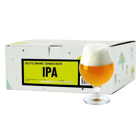 InterDrinks Recette Bière Ipa - Recharge Pour Beer Kit Confirmé   Interdrinks   Saveur Bière