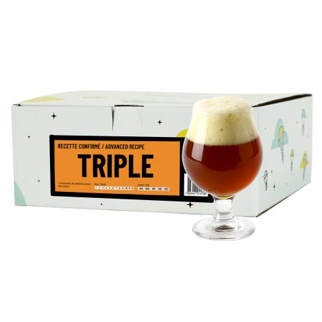 InterDrinks Recette Bière Triple - Recharge Pour Beer Kit Confirmé   Interdrinks   Saveur Bière