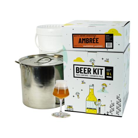 Saveur Bière Beer Kit Confirmé Bière Ambrée   Saveur Bière