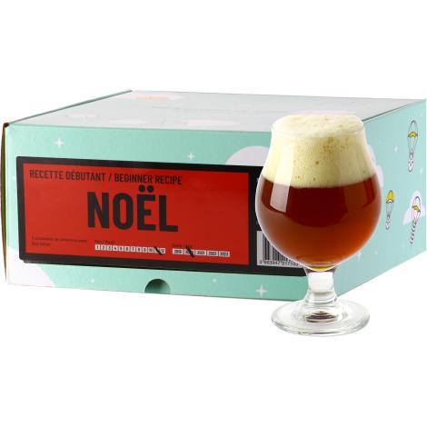 InterDrinks Recette Bière De Noël - Recharge Pour Beer Kit Débutant   Interdrinks   Saveur Bière