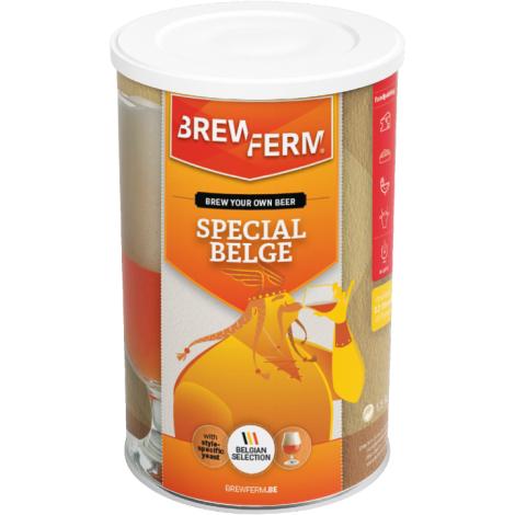 Brewferm Recette Bière Ambrée - Kit à Bière Brewferm Special Belge 12 L   Saveur Bière