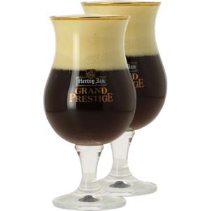 Hertog Jan Pack 2 Verres Hertog Jan Grand Prestige - 25 Cl   Saveur Bière - Publicité