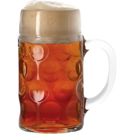 Verre à bière neutre Verre Isar Bock 1L   Verre à Bière Neutre   Saveur Bière