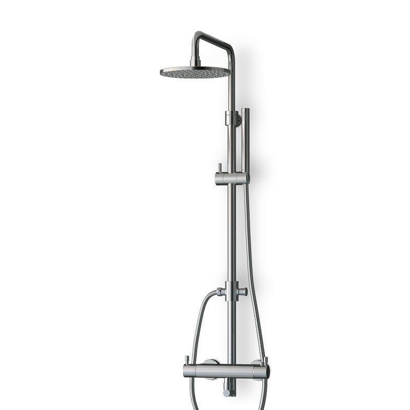Thalassor Colonne de douche thermostatique avec douchette LOOP