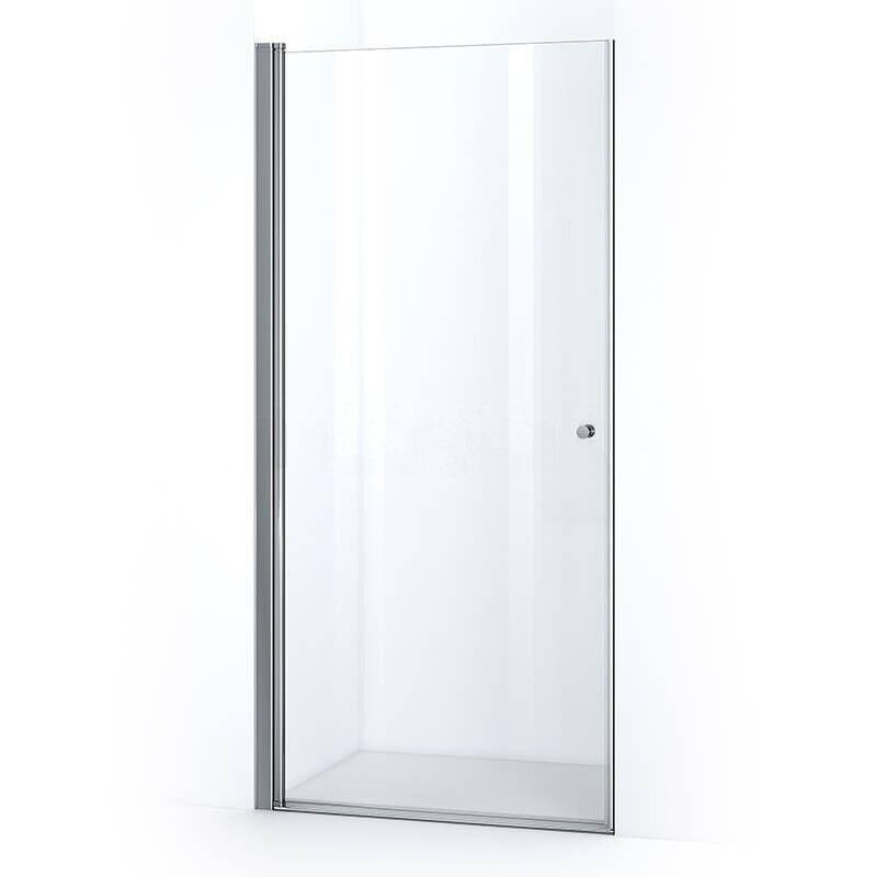 Thalassor Porte de douche 90 cm pivotante SINA verre Nanotech