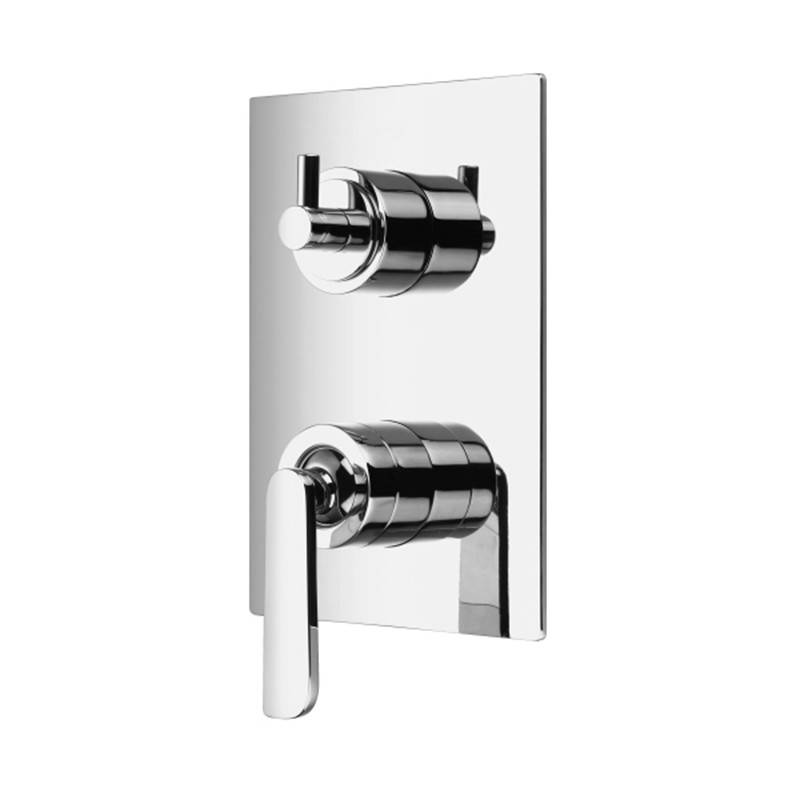 Thalassor Robinet mitigeur mural 3 sorties pour douche Collection ERMES