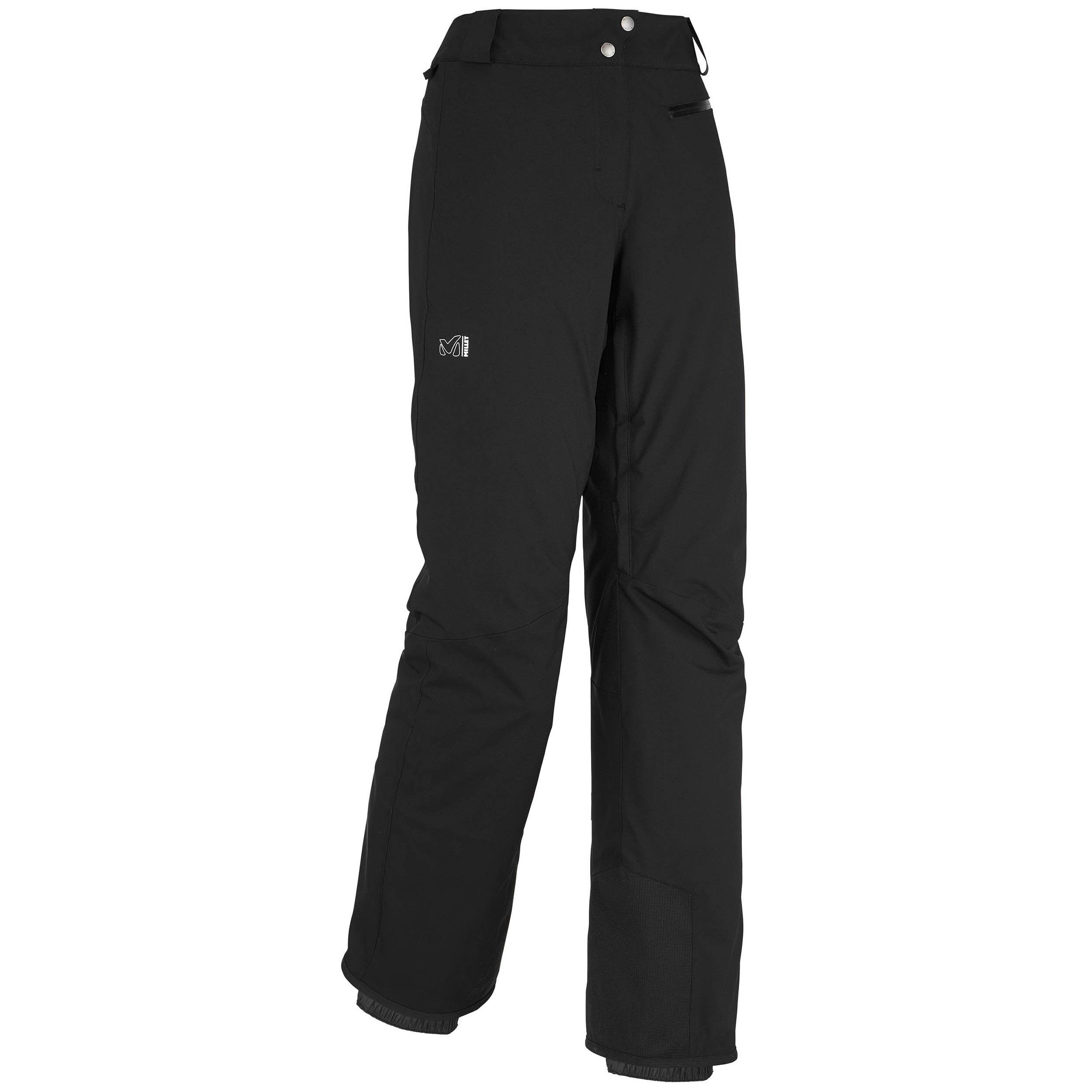 millet Pantalon De Ski / Snow 2 Couches Millet Ld Big White Stretch Black - Noir Femme