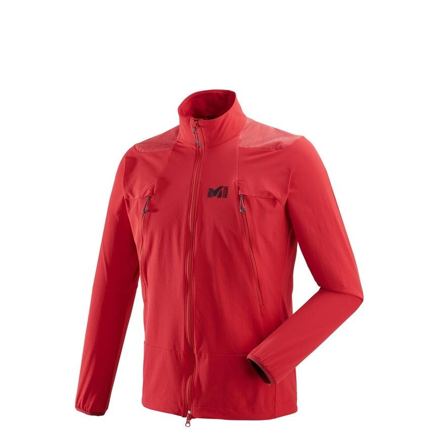 millet Softshell Millet K Absolute Xcs Red - Rouge