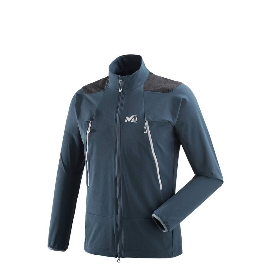 millet Softshell Millet K Absolute Xcs Orion Blue
