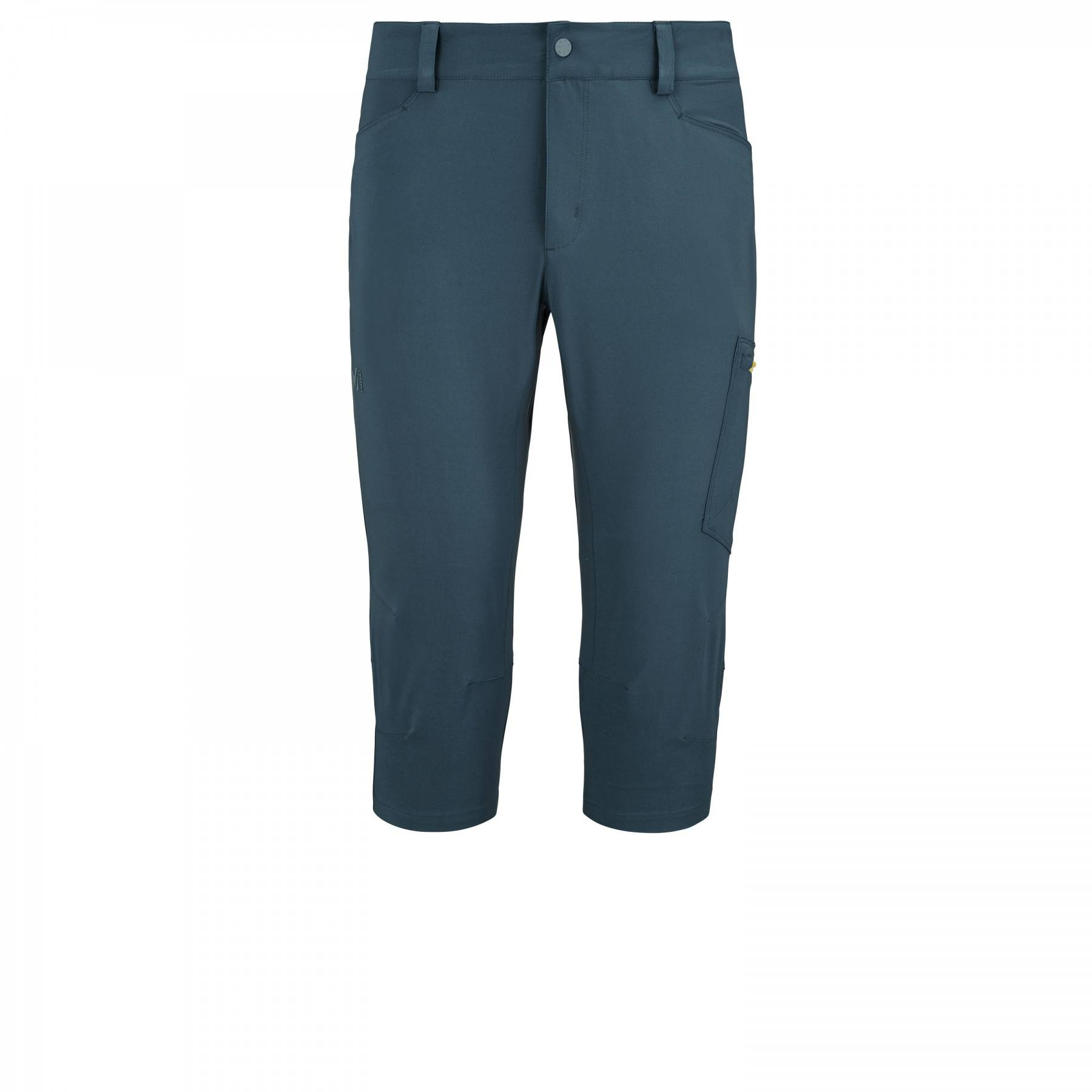 millet Pantalon Millet Wanaka Stretch 3/4 Orion Blue/wild Lime Homme