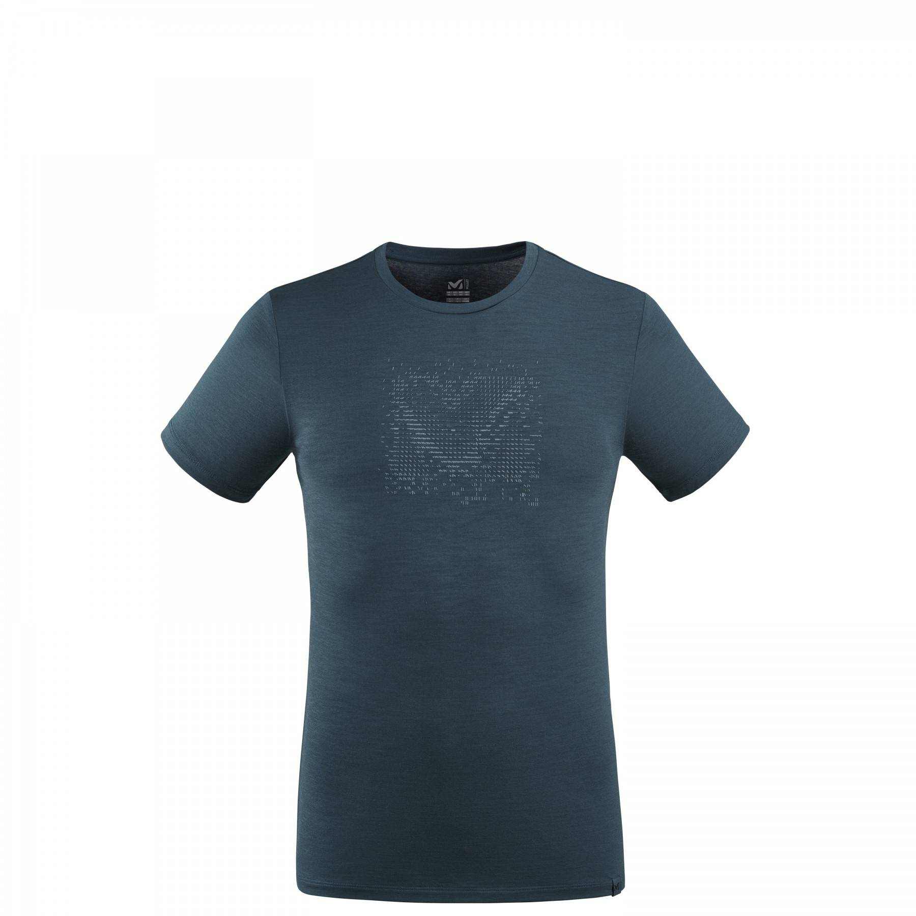 millet Tee Shirt Millet Density Wool Ts Ss M Orion Blue Homme